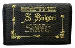 正規ブルガリキーケースコレッツォーネ6連PVCキャンバスグレー32436イエロー黄色BVLGARI