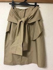 新品★Moussyドッキング裾付きスカート