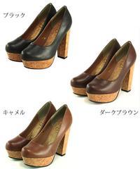 ★新品★コルクパンプス★黒★Msize★5,145円