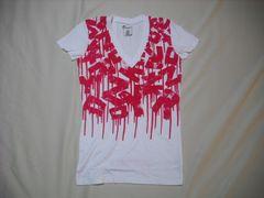 mq569 女 ZOO YORK ズーヨーク 白 Tシャツ Mサイズ