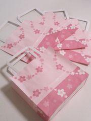 キュート手提げ紙袋☆舞桜10枚