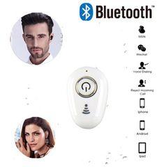 Bluetooth イヤホン ワイヤレス イヤホンマイク 方耳 ホワイト