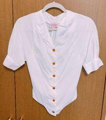 ヴィヴィアンREDLABEL白半袖シャツ サイズ1
