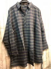 新品☆8L大きいサイズ綿100%チュニック長袖☆n272