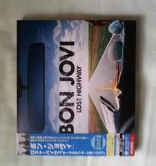 初回限定盤 LOST HIGHWAY  BON JOVI  DVD付き 美品