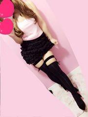 マーキュリーリュクス♪お花モチーフブラックタイトミニスカート