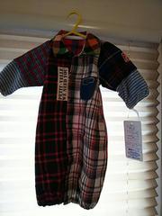 兼用ベビードレス新品未使用☆サイズ50〜70赤ちゃん♪