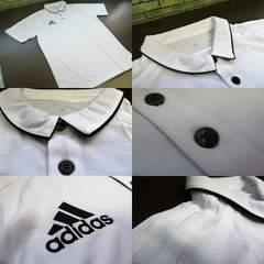 送料込(XO白)アディダス BRR90★TIRO17 半袖ポロシャツ ピケ素材薄手軽量