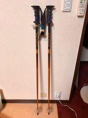 ミズノ  スキー用 ストック BLUE IMPULSE 115