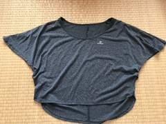 美品★キスマーク kissmark Tシャツ グレーS