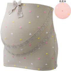 ハート柄刺繍妊婦帯ピンクMサイズ!新品