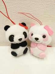 プチまるマスコット(パンダ)2匹セット