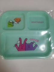 新品プラスチック皿、子供皿やアウトドアに