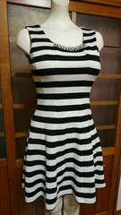 Ryuyu ボーダーミニドレス