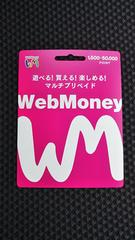 Webマネー (ウェブマネー)10000円   新品・未使用品