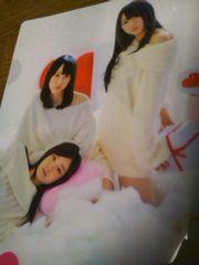 SKE48雑誌付録のクリアファイル