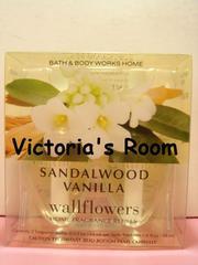 Bath&BodyWorksサンダルウッドバニラルームフレグランス替えレフィル大人バニラ