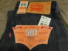 【LEVI'S #501】【STRAIGHT LEG BOTTON FLY】30 x 32