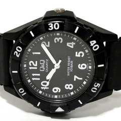 良品【980円〜】Q&Qダイバーテイスト【10BAR】メンズ腕時計
