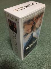 タイタニック ビデオテープ 2本セット