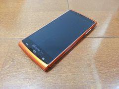 即落/即発!!新品未使用 SH-07E AQUOS PHONE si オレンジ