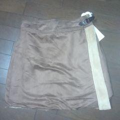 ボア暖かラップスカート(L)