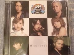激安!超レア☆AAA/Hide-away☆初回盤/CD+DVD☆トレカ付末吉秀太