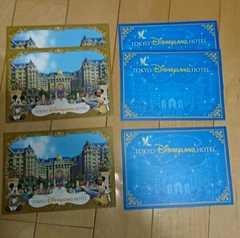ディズニーランドホテル★ノベルティー★ポストカード