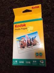 Kodak  フォトペーパー  光沢紙   L版