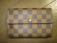 ★Louis Vuitton(ルイヴィトン)三つ折り財布★ダミエ♪