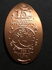 15周年限定 ホテルミラコスタ スーベニアメダル ミニーマウス