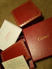 カルティエCartier正規品ネックレスジュエリーケースBOX収納箱