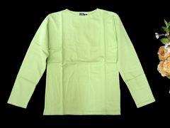 新品 cony island 1枚で着られる ロンT 長袖 Tシャツ  黄緑