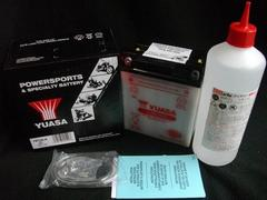 (927B)CB250TCB400TCB400Nホーク�V高品質YUASA製バッテリー