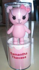 サマンサタバサ Samantha Thavasa ノベルティ USBメモリ ベア ピンク 新品