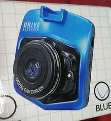 コンパクトドライブレコーダー(ブルー)