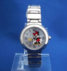 ミニーちゃんメタルウォッチ-腕時計ディズニー