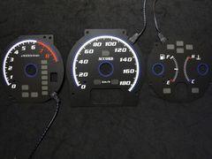 ELメーター アコード CF6 ブラックパネル