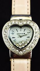 【電池切】ハートケースの中でキラキラ動き回る腕時計*可愛い