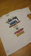 STUSSY&MARVEL コラボ  白  大きい  size3XL  WORLD-TOUR