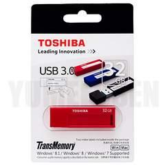 真っ赤でおしゃれな東芝製 USBメモリー 32GB 高速なUSB3.0対応 新品
