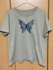 ユーズド*3L半袖Tシャツ/セシール¥100スタ