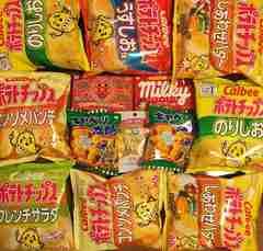 お菓子☆ポテトチップス8袋☆アンパンマンとミルキーチョコ等