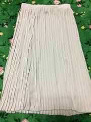 ELLE:新品タグ付きプリーツスカート