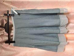 美品 ミッシュマッシュ ブルー 水色 スカート