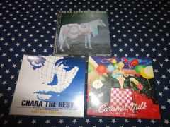 CHARA『BABY BABY BABY~』+『CARAMEL MILK』+『LIVE~』初回盤3枚