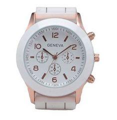 今回限り800円★おしゃれデザイン腕時計 白 初期不良保証