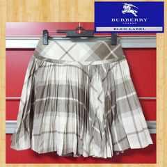 BURBERRY BLUE LABEL バーバリー ブルーレーベル プリーツスカート 36