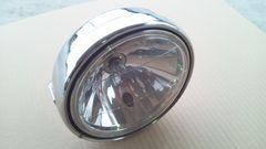 180パイ メッキヘッドライト&ケースマルチリフレクタースタンレーゼファー400Z400FXGS400CBX400