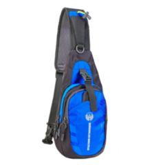 超軽量 ワンショルダー 斜め掛けバッグ ブルー